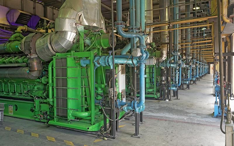 Flour Mills of Nigeria, Captive Power Plant