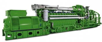 Jenbacher J624 gas engine