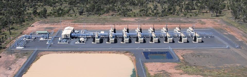 coal bed methane (CBM) power plant