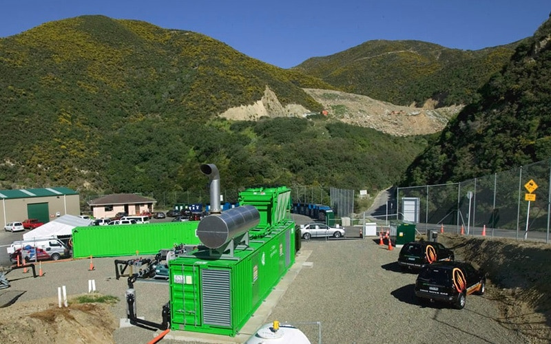 Happy Valley Landfill Power Station, Wellington, New Zealand