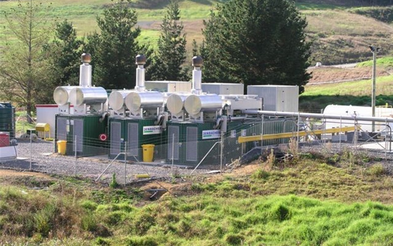 Whitford Landfill Gas Power Station, New Zealand