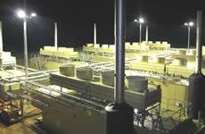 Blackwater Coal Seam Gas Power Station, Queensland, Australia