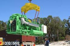 Mandurah, Biogas from Organic Waste Cogeneration Plant, Australia