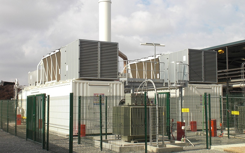 L'installation biogaz d'Idex Environnement à Amiens