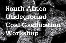 S.A. Underground Coal Gasification Workshop