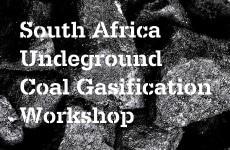 Salon sur la gazéification souterraine du charbon en Afrique du Sud