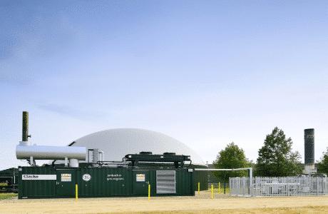 Στα αγγλικά: Thoeni, Allens Farm Biogas Installation