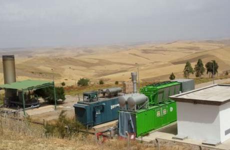 Biogas Landfill in Fez