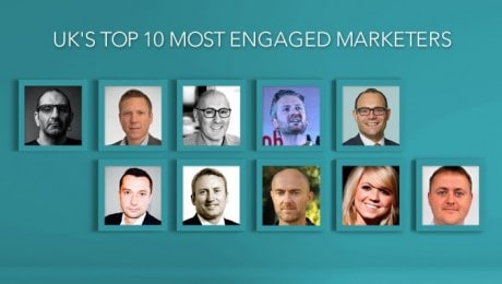 Top 10 Most Engaged Marketers