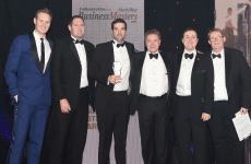 Winners 2nd Year Running at North West Business Masters Awards