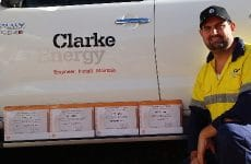 Clarke Energy's Australian National Support Team for GE's Waukesha Gas Engines