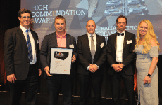 Awarded High Commendation in Project Management