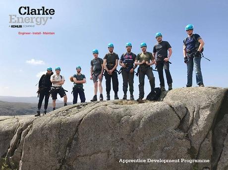 Clarke Energy field service apprentice 2017