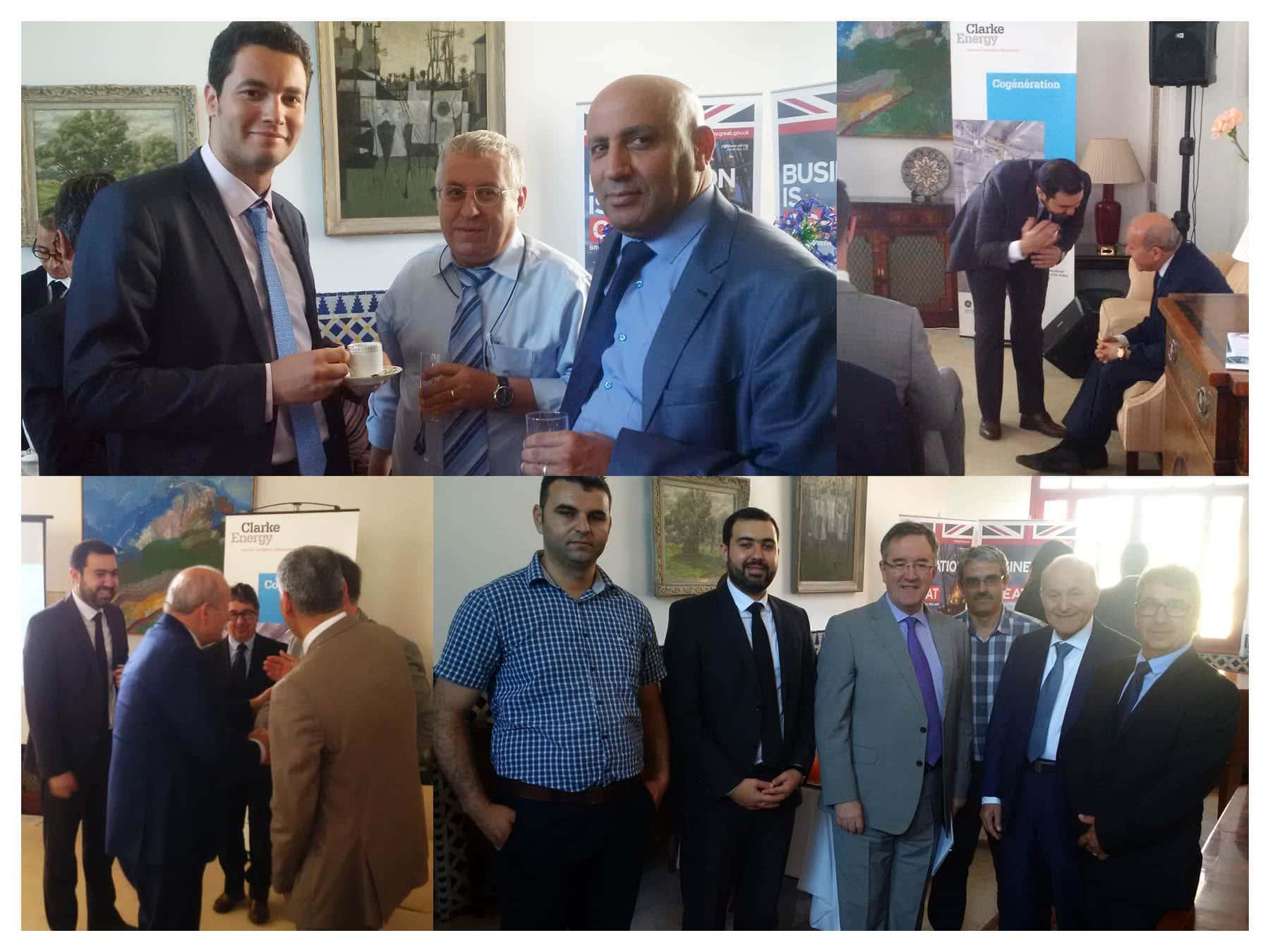 Algeria British Embassy Clakre Energy