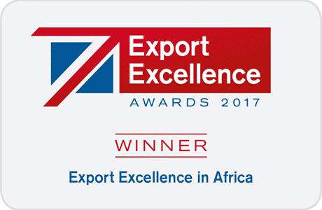 Export Excellence Winner 2017