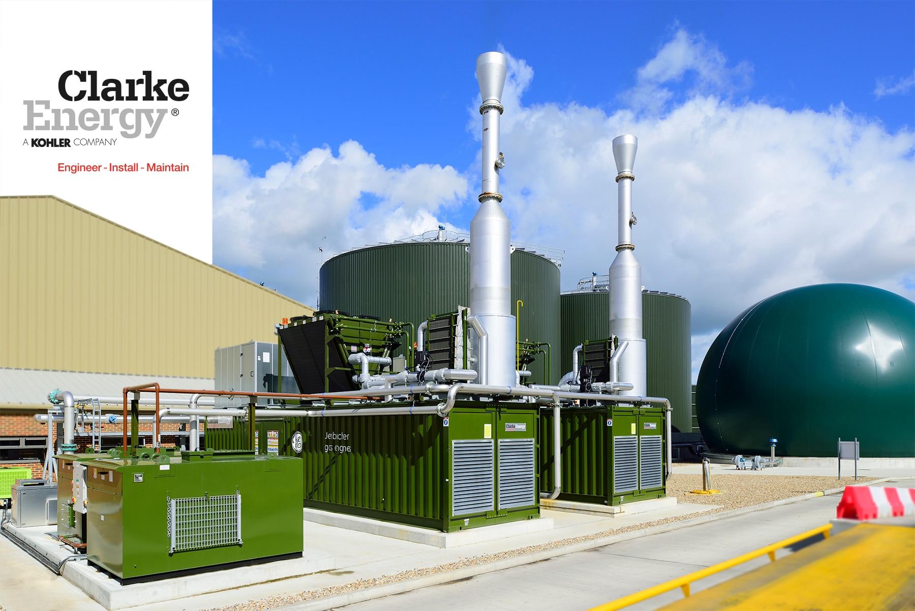 Bygrave Clarke Energy Biogas 2