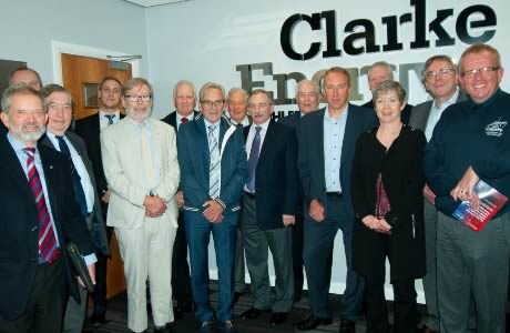 IDGTE visits Clarke Energy's Knowsley Headquarters