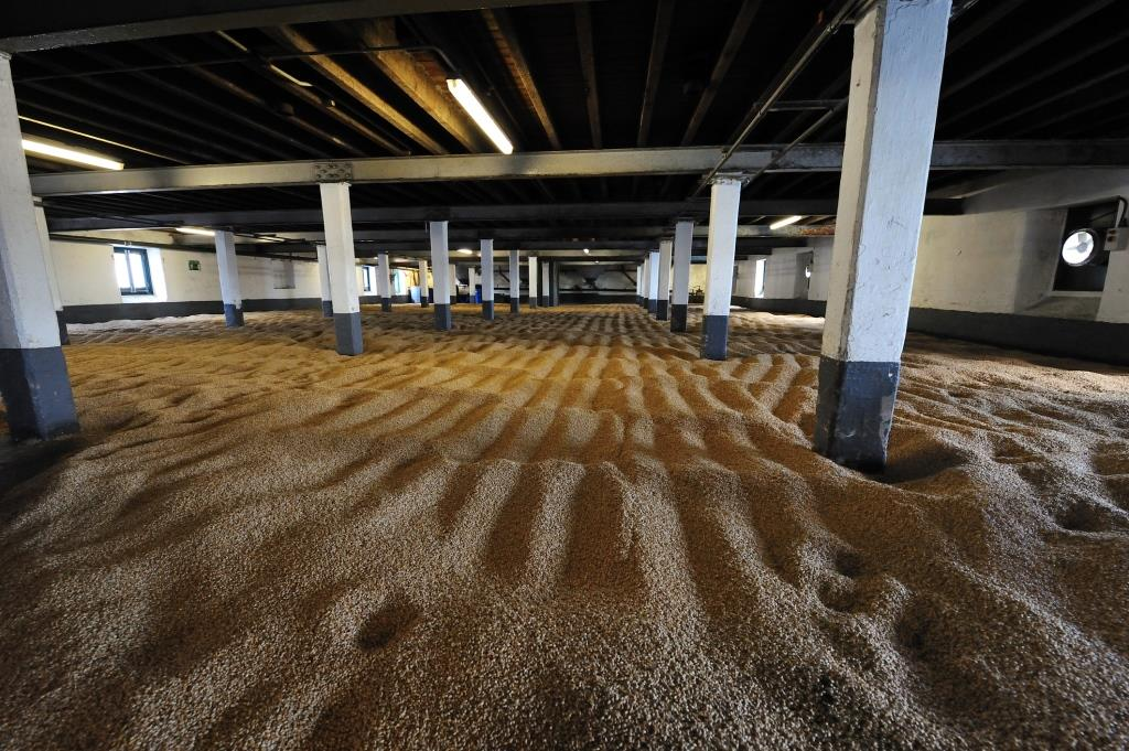 A photograph of a malting room at a distillery highlighting potential for chp for the distillery and brewery supply chains