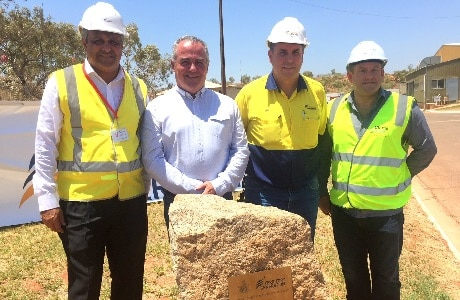 Opening of Tennant Creek Power Station