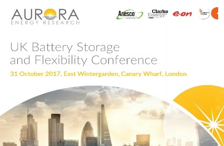 UK Battery Storage and Flexibility Conference 2017