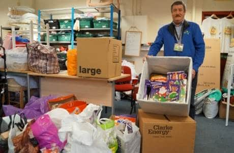 Christmas Donation To Knowsley Foodbank
