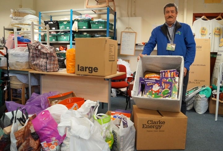 Jimmy Swift Knowsley Foodbank
