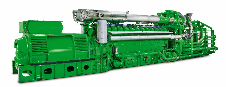 Sebewaing Jenbacher 6 Engine