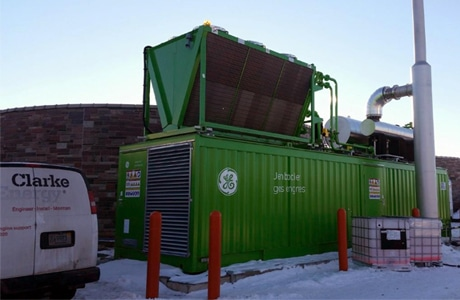 St. Cloud Wastewater Install Biogas and Natural Gas Engine, USA
