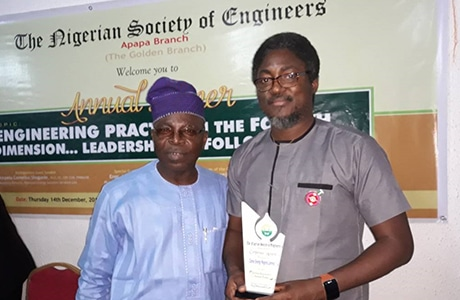 Award For Contribution To Growth In Engineering, Nigeria