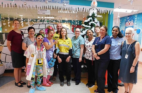 Clarke Energy Donation to Alice Springs Hospital and Women's Refuge