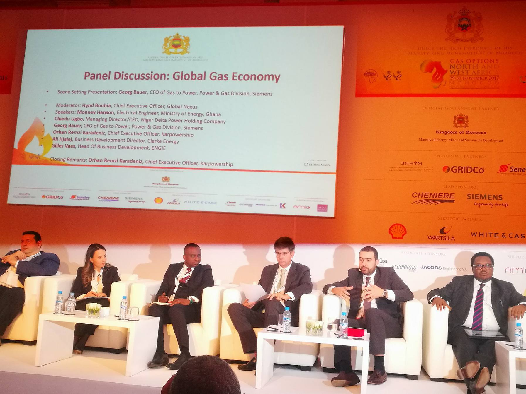 Ali Hjaiej - Gas Options North and West Africa
