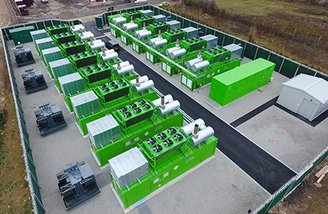 En Anglais: 21MW Peaking Plant Delivered to Ashford Power, UK