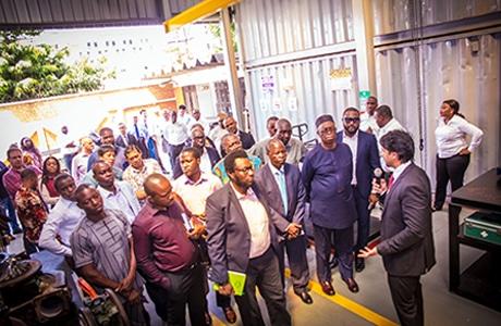 Clarke Energy Unveil New Engine Overhaul Workshop in Nigeria