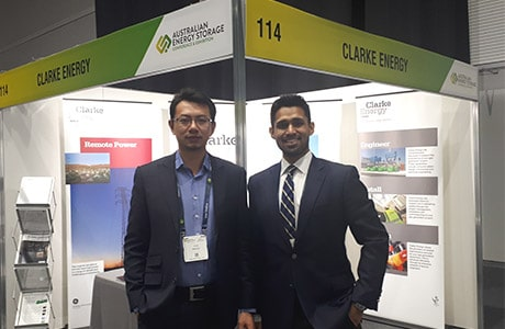 Clarke Energy Participation at the Australian Energy Storage Conference