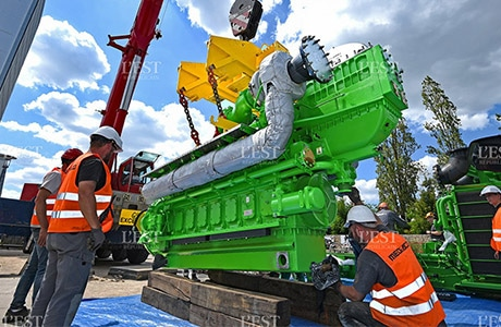 Grand Nancy, installation d'un moteur JMS616