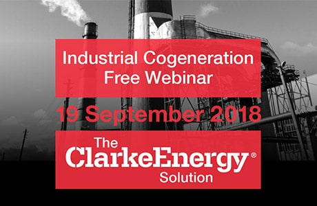 Industrial Cogeneration Free Webinar – 19th September