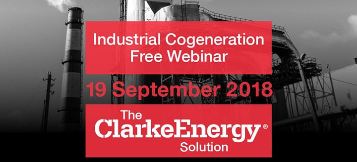Industrial Cogeneration Free Webinar - 19th September