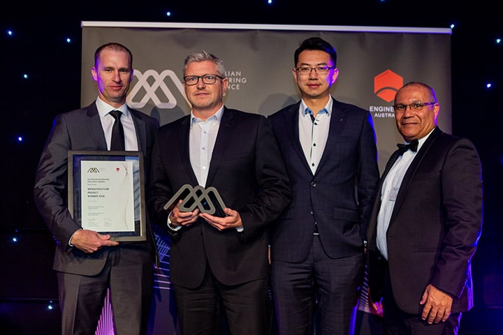Clarke Energy Wins 'Infrastructure Project 2018' at Australian Engineering Excellence Awards