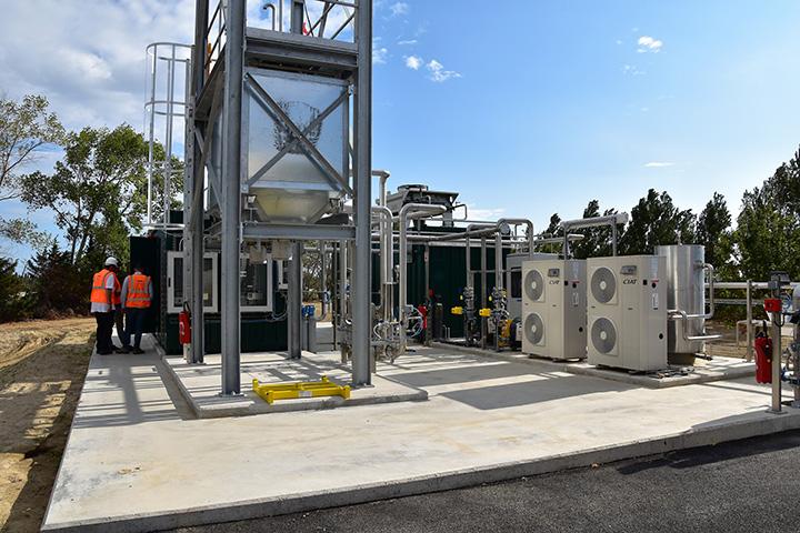 Inauguration of Biomethane Unit at Perpignan, France