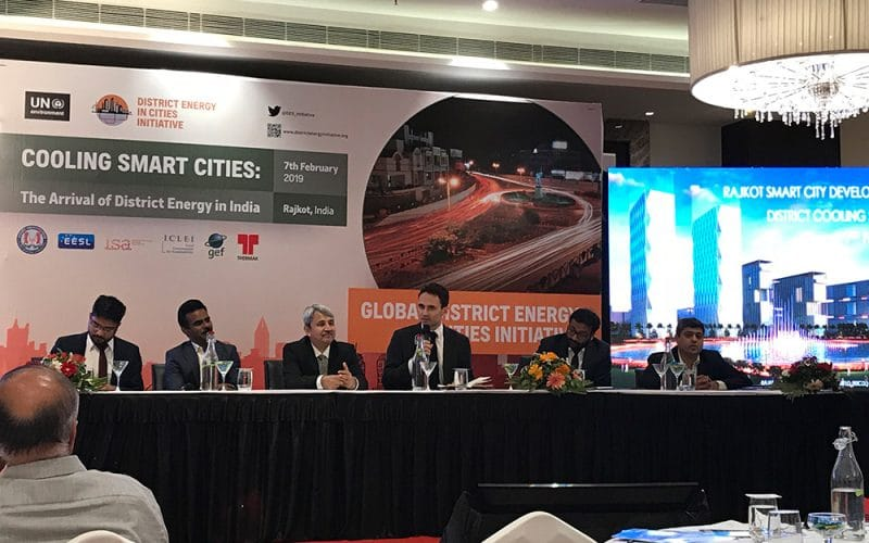 En Anglais: Clarke Energy partners with the UN Environment on District Energy in Cities Initiative in India