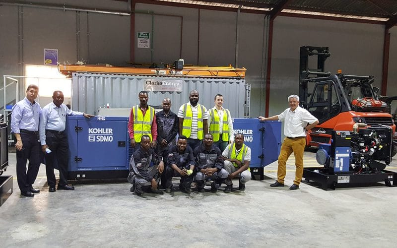 First Kohler SDMO Diesel Units Assembled at Clarke Energy's New Plant in Nigeria