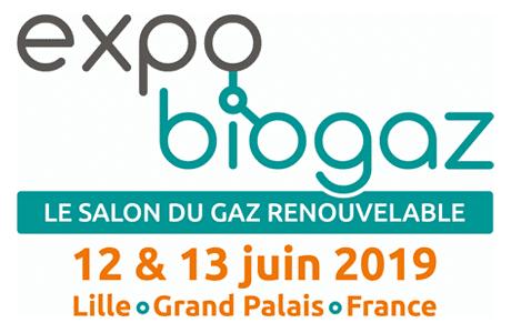 Clarke Energy expose à Expo Biogaz 12>13 Juin 2019 – Lille, Grand Palais