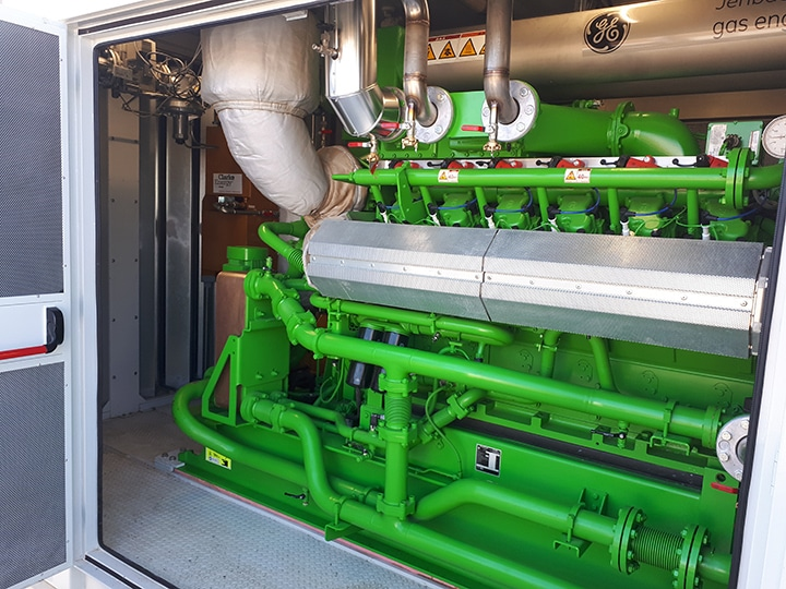 Combined Heat and Power Plant Installed at SAS Demeter Energies