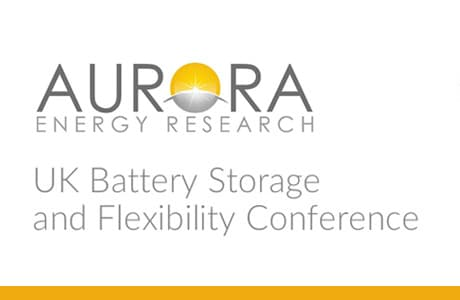 Aurora Battery Storage and Flexibility Conference 2019