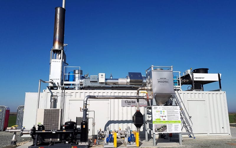 Στα αγγλικά: Biogas-fuelled Combined Heat Power Plant Installed at SAS Demeter Energies