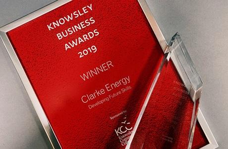 'Developing Future Skills Award' Win at Knowsley Business Awards 2019
