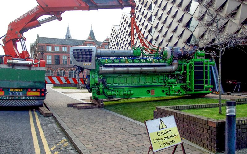 En anglais: Major 60,000 Hour Engine Overhaul Completed at The University of Liverpool's Energy Centre