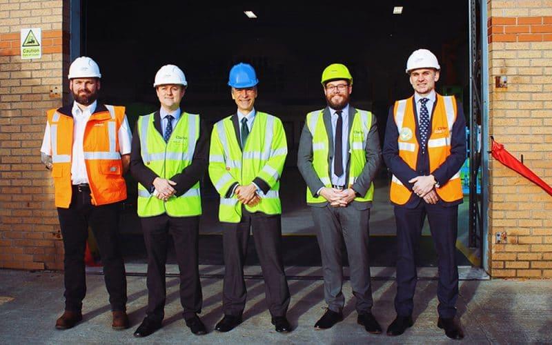 International Development Minister Inaugurates Newly Refurbished Overhaul and Repair Centre