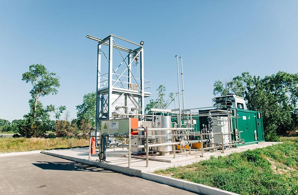 Στα αγγλικά: First Biogas Upgrading Installation at Perpignan Sewage Plant in France