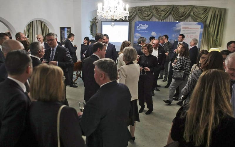 En anglais: Romanian Energy Community Celebrates Launch of Clarke Energy's New Romanian Business